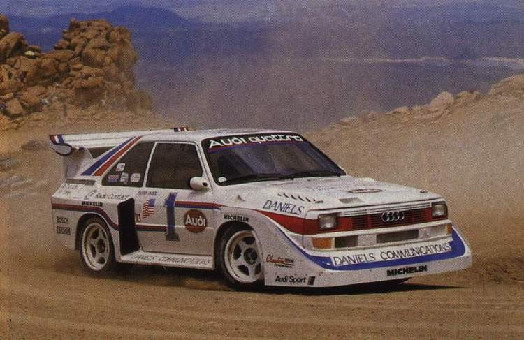 Los Grupo B en Pikes Peak International Hill Climb