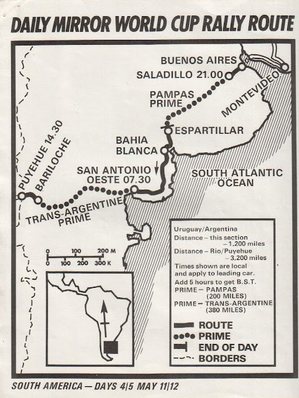 Recorrido del 11 y 12 de Mayo, Dia 4,5