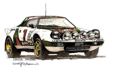 Lancia Stratos HF